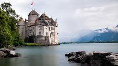 Chilean Castle Switzerland (R. Murphy Photography) Tags: castle switzerland long exposure fuji chillon montreux xpro1