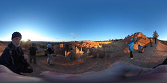 at Sunrise Point (360) (Stephen T Slater) Tags: 360 explore sunrisepoint us usa unitedstatesofamerica blanket hat hoodoos sun sunrise bryce utah unitedstates brycecanyonnationalpark