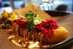 Fish Tacos at La Carnita (deeeelish) Tags: fish tacos cod