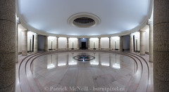 The Pool of the Black Star (burntpixel.ca) Tags: urban panorama canada black building art beautiful horizontal architecture canon spectacular star photo winnipeg room fine wide patrick manitoba photograph round pillars legislature circular 6d legislative mcneill burntpixel canon6d wrench777