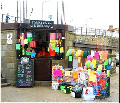 The Tackle Cabin .. (** Janets Photos **) Tags: uk fishing colours bridlington harbours anglers eastyorkshire