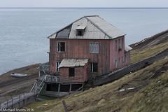 Derelict building in Barentsburg, Svalbard. (mjevons1) Tags: norway nikon svalbard alr barentsburg d7200
