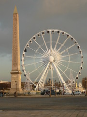 La place de la Concorde, Paris, France (Marylou1504) Tags: obelisque paris ville france nuageux gris mange
