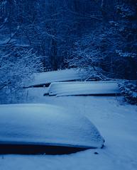 Hibernating Boats #3 (trm42) Tags: morning winter sleeping lake snow suomi finland boats boat frozen rowing talvi lapua seinjoki soutuvene pohjanmaa hirvijrvi