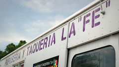 """Pupuseria La """"Fe"""" Truck in Des Moines, Iowa (Tyrgyzistan) Tags: latin american food pupusas pupuseria des moines eastside east grand ave trendy truck taco iowa central polk county you gotta have fe indoor dish"""