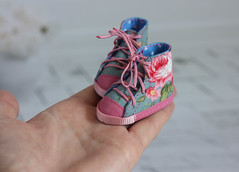 (by Hand Dreams) Tags: sewing shoes hand made bjd minifee
