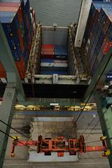 Empty return (DST_1674) (larry_antwerp) Tags: 9210086 celinastar cmacgm psaterminal container antwerp antwerpen       port        belgium belgi          schip ship vessel