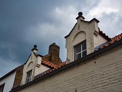 gables in Damme (wellingtonandsqueak) Tags: belgium c1 damme