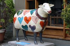 Cuthbert (Cumberland Patriot) Tags: sheep painted go cumbria trust cuthbert calvert ewe cumbrian herdwick goherdwick