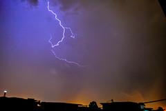 Lightening and Thunder (Masroor Gilani) Tags: pakistan sky weather night open lightening islamabad