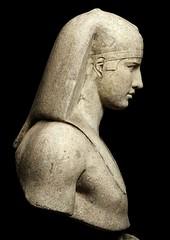 Ancient Rome. Bust of Antinous - Osiris.  130-138 A.D. (mike catalonian) Tags: portrait sculpture male hadrian osiris antinous ancientrome 2ndcenturyad