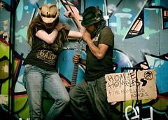 I walk the line.... (Anne J Gibson) Tags: graffiti photographer homeless urbanart johnnycash busker cowboyhat homies walktheline torontolife torontostreetlife torontostreetphotography torontoinsta johnnynocash