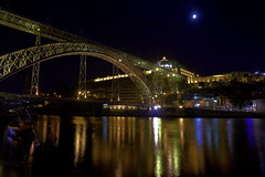 Pont Dom-Lus Porto (J N Photography) Tags: bridge color portugal water night river photography colorful eau rivire structure reflet porto nd pont colored alpha 77 reflextion doro portogallo filtre duero nuyten photographysony domlus poselonguelong pontdomlus exposurejeremy