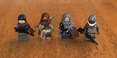 City Survivors (Zachary Bean) Tags: lego native apocalypse division figures poc apoc nativepoc
