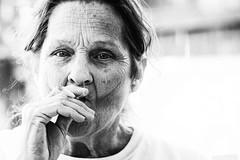 Mother (JohnbWiley) Tags: nikon mother smoking selected digitalphotograph d600