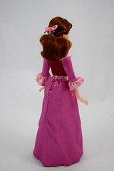Beauty and the Beast Deluxe Doll Set - US Disney Store Purchase - Deboxed - Belle 12'' Doll - Without Cape - Full Left Rear View (drj1828) Tags: disneystore purchase doll dollset deluxe beautyandthebeast 12inch belle winter pink