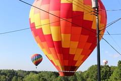 IMG_2421 (thehachland) Tags: saratogacounty saratogacountyfairgrounds saratogaballoonandcraft sky ballstonspa balloons balloonfestival hotairballoons