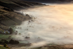 Covered (David Ball Landscape Photography) Tags: uk greatbritain travel trees light england mist mountain nature field clouds sunrise canon landscape outdoors photography dawn outdoor peakdistrict naturallight adventure leefilters davidballlandscapephotography