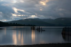 (carlozamagni) Tags: lake night lago scotland loch lomond lochlomond