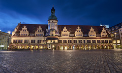 Old Rathaus, Leipzig, Germany (swissukue) Tags: architecture germany nightlights sony leipzig rathaus a7 ilce7