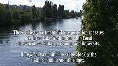 Video: Fremont and Ballard Bridge Openings (Seattle Department of Transportation) Tags: seattle bridge boats video marine waiting traffic fremont transportation opening drawbridge ballard inside behindthescenes patience bascule sdot