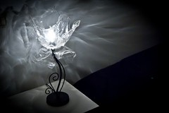 Light sculpture (irecyclart) Tags: sculpture lights recycled plastic lamps