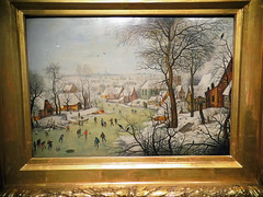 De vogelval (The bird trap) / Pieter Breghel de Jonge (Beyond the grave) Tags: art netherlands painting denbosch shertogenbosch noordbrabant winterlandscape noordbrabantsmuseum pieterbreugheltheyounger devogelval thebirdtrap pieterbreugheldejonge