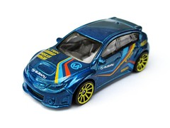 HotWheels - Subaru WRX STI (Leap Kye) Tags: new city colour sports car japan toy model paint fuji 14 rally stripe 4th racing hotwheels subaru 164 impreza wrx industries hatchback sparco tein diecast leeway 2013 kilpin armedclown309