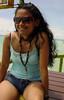 Jessie At Tristan's (Exciting Cebu -- Rusty Ferguson) Tags: jessie philippines cebu shorts filipina islandhopping tristans bantayanisland bogocity may2011 livingincebu hottiefilipina