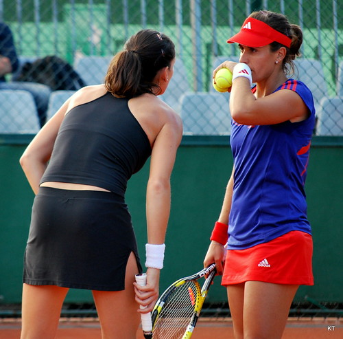 Anabel Medina Garrigues - Arantxa Parra Santonja & Anabel Medina Garrigues