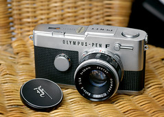 The Stunning Olympus Pen FT (Utchat) Tags: 35mm olympus halfframe penft penf maitani