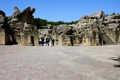 Roman ruins of Itlica / Ruinas romanas de Itlica, Sevilla (Trevor.Huxham) Tags: sevilla spain ruins roman andalucia italica santiponce canonefs1855mmf3556is canoneosdigitalrebelxs
