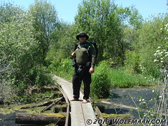 Old Rail Trail, Wainfleet Bog 201305-20 (Wolfmaan) Tags: camping outdoors hiking barefoot bog toering barfuss wainfleet bushcraft wolfmaan