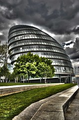 City Hall - London (iDRAW7) Tags: city uk england london hall hdr