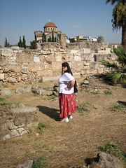 068 - Jaime & Church (Scott Shetrone) Tags: family people other graveyards events churches places athens greece 5th kerameikos anniversaries jaimeshetrone