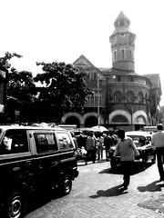 Crawford Market, Mumbai (Naveed Dadan) Tags: street city people urban blackandwhite bw india photography streetphotography documentary