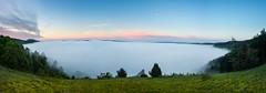 Nebelpanorama Eichsttt (Kretzsche93) Tags: panorama sunrise nebel himmel sonne sonnenaufgang ausblick eichsttt altmuehl altmuehltal nebelstimmung