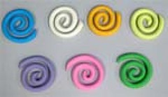 Swirls assorted colours size 5cm (sweetinspirationsaustralia) Tags: cupcaketoppers