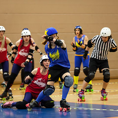 """Stockholm BSTRDs vs. Dock City Rollers-12 • <a style=""""font-size:0.8em;"""" href=""""http://www.flickr.com/photos/60822537@N07/8996353600/"""" target=""""_blank"""">View on Flickr</a>"""