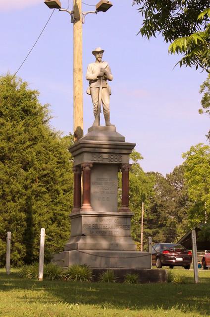 Humboldt, TN Confederate Statue