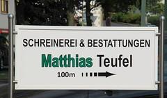 (:Linda:) Tags: germany handicraft bavaria village franconia handwerk teufel maroldsweisach funnylanguage workshopsign