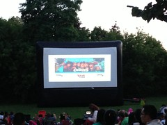 Movies on Main The Croods (Unionville BIA) Tags: kids movie real fun team community estate outdoor main volunteers band millennium stephen movies bandstand unionville