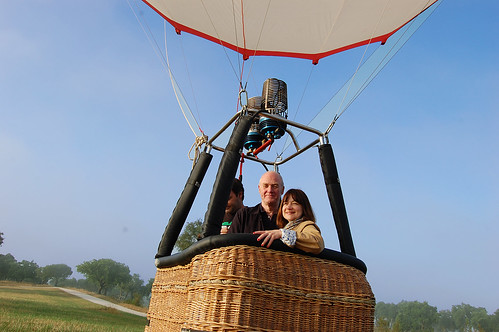 BALLOON DREAM BECOMES A REALITY FOR LONDON COUPLE