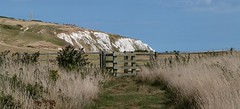 no sign of the sign (BOB@ wootton) Tags: monument chalk down cliffs isleofwight isle wight iow bembridge culver