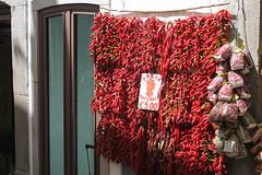 Red chillies, Capri (David P B) Tags: italy capri spice veg praiano