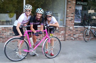 Bike love - Pink has the Canibelle's smiling -  see below.