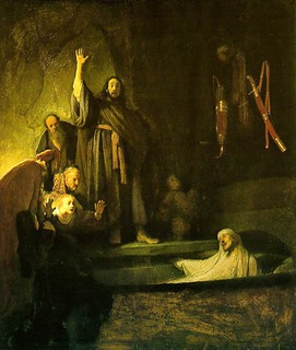 From http://www.flickr.com/photos/78492580@N02/9608807269/: rembrandt_raising_lazarus_1630