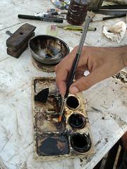 Pintura com café/Painting with Coffee (Cida Garcia) Tags: portugal coffee café painting arte lisboa pintura welikeit