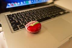 Babybel (GenJapan1986) Tags: madrid travel spain  babybel  2013 applemacbookpro  ricohgxr nhpractico