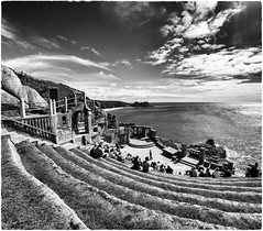Minack Theatre. Porthcurno. Cornwall (davetonkin) Tags: sea england seascape coast cornwall theatre amphitheatre granite minacktheatre minack openairtheatre rowenacade meynek
